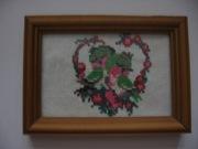 Картина вышивка крестом Влюбленная пара