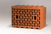 Керамический крупноформатный,  поризованный,  блок BRAER 10, 7 НФ,  М-50