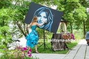 Картина-портрет на заказ в стиле Pop Art Воронеж