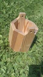 продаю кашпо (горшки для цветов) из дерева ручной работы