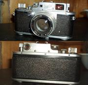 Советский пленочный фотоаппарат Зоркий-3