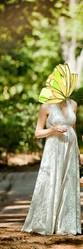 Свадебное (вечернее) платье, сшито из итальянских тканей (пр. Armani)