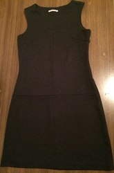 Платье,  плотная ткань