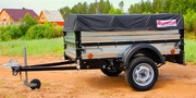 Продам новые курганские прицепы Крепыш для легкового авто