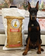 Превосходный корм для собак без крахмала и аллергенов