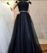Выпускное платье черного цвета