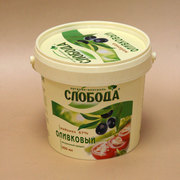 Ведро пластиковое 1 л для пищевых продуктов